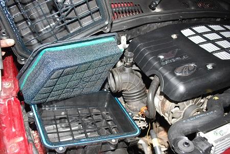 Oil Filtration Foam